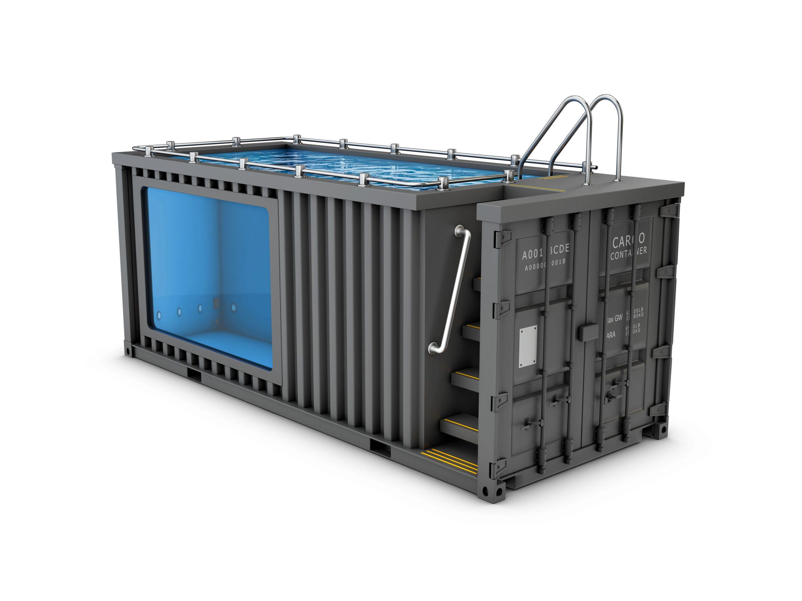 Full Size of Upcycling Containerpool Vom Ausgedienten Container Zum Pool Im Garten Bauen Bett Kaufen Hamburg Breaking Bad Mini Betten Regale Gebrauchte Küche Sofa Günstig Wohnzimmer Pool Kaufen