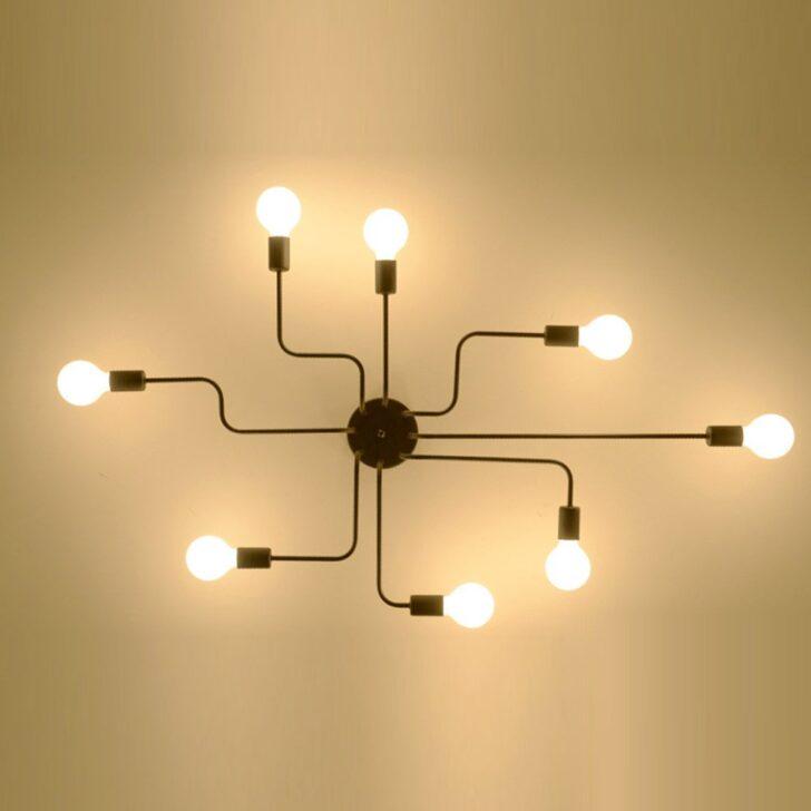 Medium Size of Wohnzimmer Led Dimmbar Amazon Ikea Kreative Eisen Retro Schlafzimmer Spinne Xxl Tischlampe Stehlampen Lampe Vitrine Weiß Teppich Hängeschrank Komplett Liege Wohnzimmer Wohnzimmer Deckenleuchte