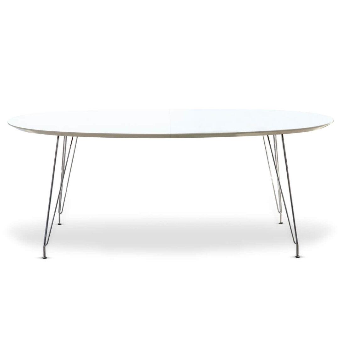 Large Size of Esstisch Weiß Oval Dk10 Von Andersen Furniture Rustikal Holz Küche Bett 140x200 Musterring Teppich Esstische Ausziehbar Hochglanz Regal Schwarz Lampen Esstische Esstisch Weiß Oval