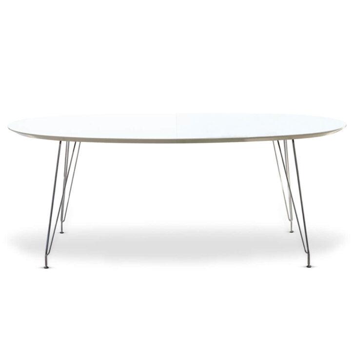 Medium Size of Esstisch Weiß Oval Dk10 Von Andersen Furniture Rustikal Holz Küche Bett 140x200 Musterring Teppich Esstische Ausziehbar Hochglanz Regal Schwarz Lampen Esstische Esstisch Weiß Oval