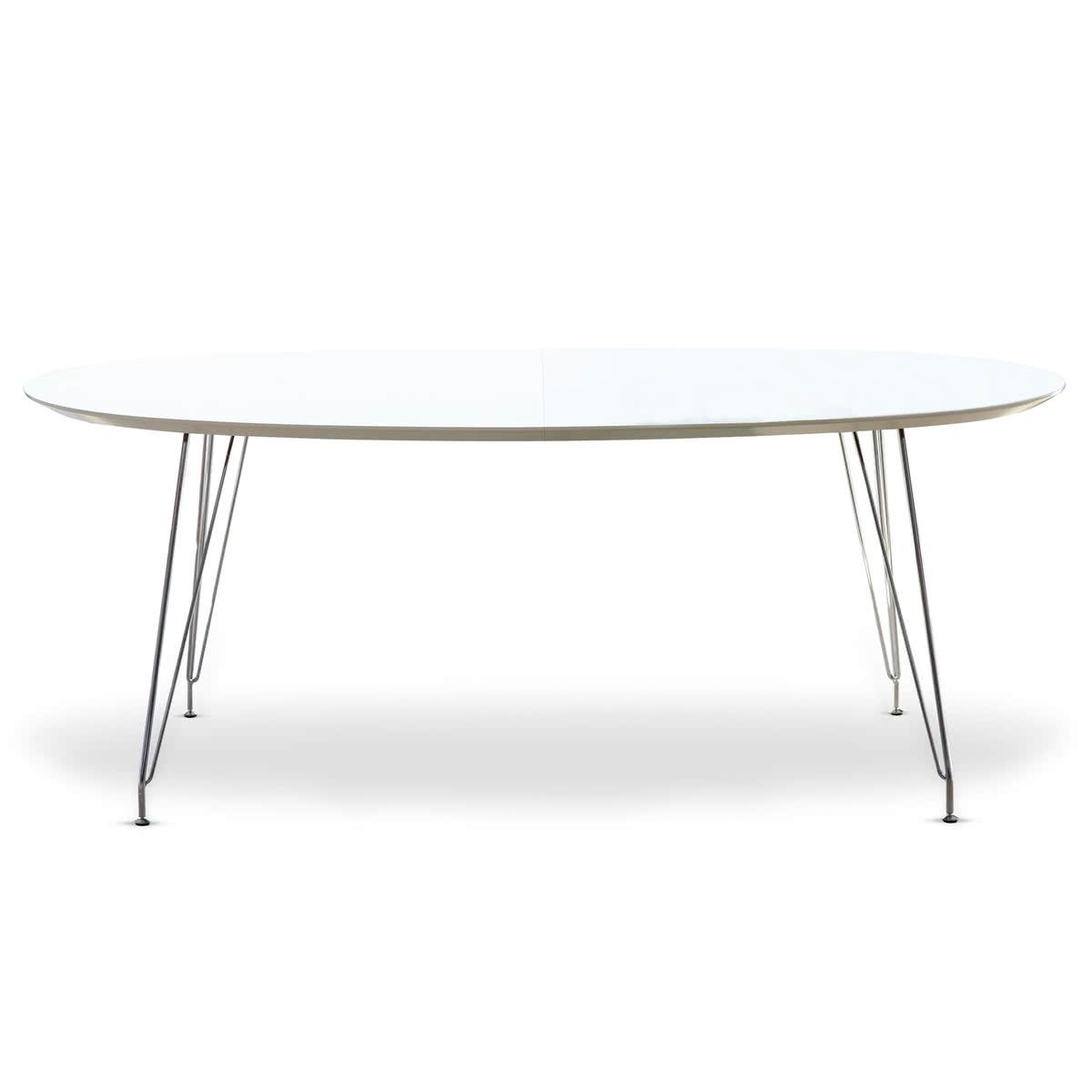 Full Size of Esstisch Weiß Oval Dk10 Von Andersen Furniture Rustikal Holz Küche Bett 140x200 Musterring Teppich Esstische Ausziehbar Hochglanz Regal Schwarz Lampen Esstische Esstisch Weiß Oval