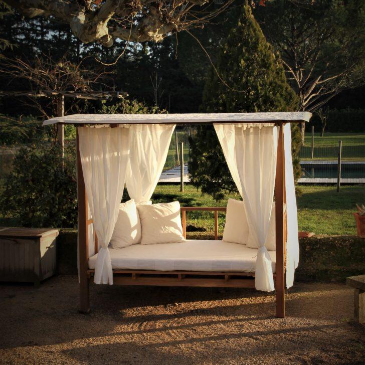 Medium Size of Garten Bett Originelles Design Madrague Honeymoon Holz 140 Coole Betten Bestes 90x200 Mit Lattenrost Tagesdecke Paidi Großes Weiß Eiche Sonoma Rauch 180x200 Wohnzimmer Outdoor Bett
