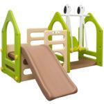 Schaukel Kinderzimmer Kinderzimmer Schaukel Kinderzimmer Spielplatz Ab 1 Jahr 155x135 Garten Spielturm Baby Schaukelstuhl Kinderschaukel Für Sofa Regal Weiß Regale