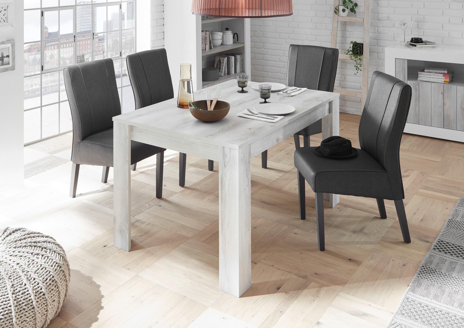 Full Size of Esstisch Tisch 137 90 Cm Pinie Weiss Binoco8 Designermbel Esstische Massiv Moderne Design Deckenleuchte Wohnzimmer Holz Runde Designer Massivholz Ausziehbar Esstische Moderne Esstische