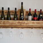 Weinwandregal Winetime Fr Glser Und Flaschen Holzregal Küche Regal Rot Bito Regale Blu Ray 40 Cm Breit Cd Buche Weiß Holz Massiv Günstige Glasböden Regal Regal Rustikal