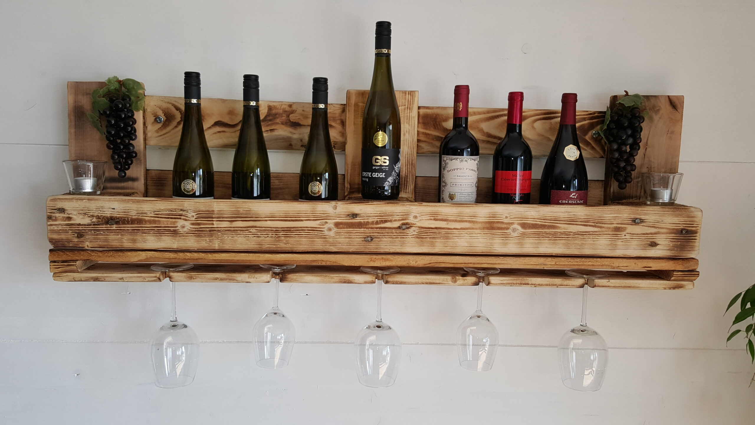 Full Size of Weinwandregal Winetime Fr Glser Und Flaschen Holzregal Küche Regal Rot Bito Regale Blu Ray 40 Cm Breit Cd Buche Weiß Holz Massiv Günstige Glasböden Regal Regal Rustikal