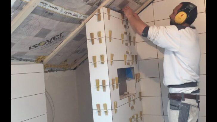 Medium Size of Fliesen Für Dusche Verlegen Wand Badezimmer Tipps Tricks Gehrung 90x90 Fürstenhof Bad Griesbach Schulte Duschen Werksverkauf Klebefolie Fenster Schaukel Dusche Fliesen Für Dusche