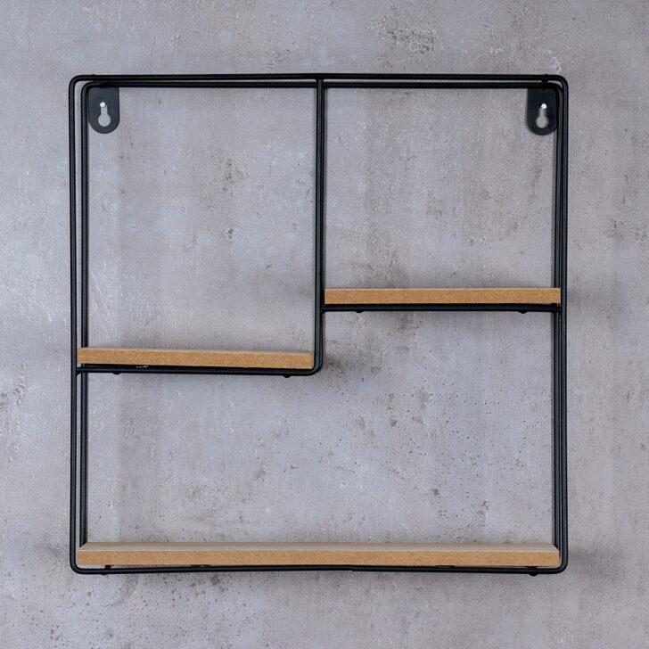 Medium Size of Regal Industrie Wandregal 32x32cm Metall Schwarz Holz Mdf Natur Modern Sheesham Roller Regale Buche Schuh Tiefe 30 Cm String Werkstatt Für Dachschrägen Regal Regal Industrie