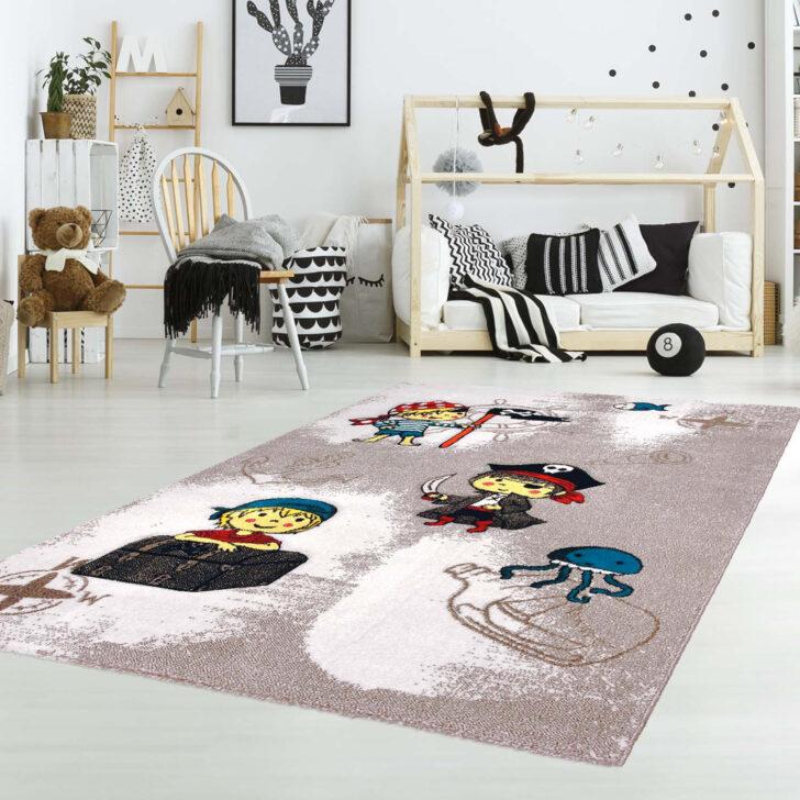 Medium Size of Piraten Kinderzimmer Kinderteppich Mit Junior K11557 Beige Flachflor Regal Weiß Sofa Regale Kinderzimmer Piraten Kinderzimmer