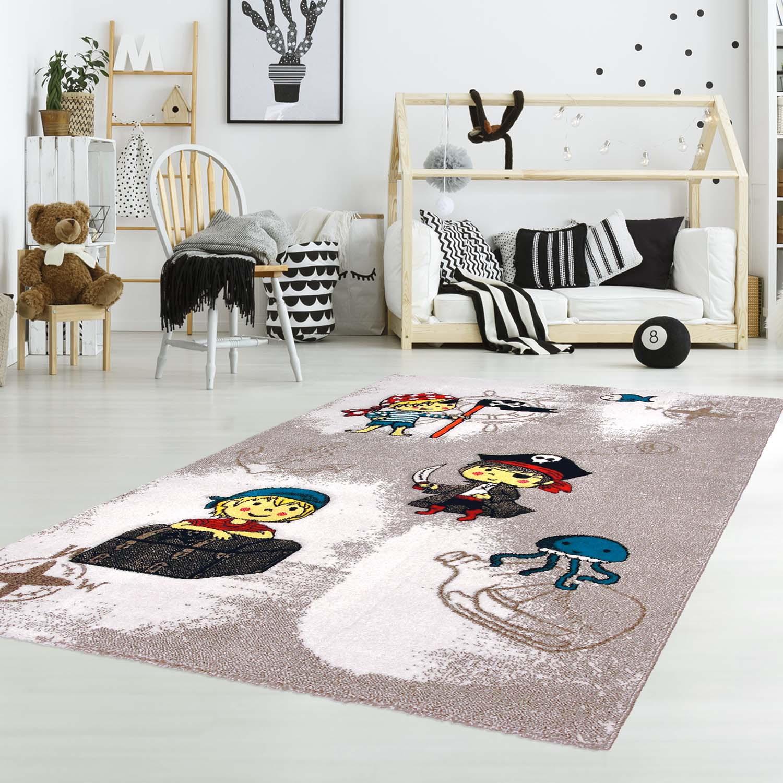 Full Size of Piraten Kinderzimmer Kinderteppich Mit Junior K11557 Beige Flachflor Regal Weiß Sofa Regale Kinderzimmer Piraten Kinderzimmer
