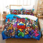Bettwäsche Teenager Wohnzimmer Brawl Stars Bettwsche Set Steppdeckenberzug Mit Kissenbezug Betten Für Teenager Bettwäsche Sprüche
