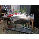 Mobile Outdoor Küche Wohnzimmer Mobile Outdoor Küche Kche Nizza Aus Edelstahl Von Girse Design Salamander Singleküche Mit Kühlschrank Erweitern Anrichte Vinylboden E Geräten Günstig