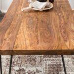 Finebuy Esstisch Massiv Esszimmertisch Holztisch Sheesham Holz Tisch Weißer Skandinavisch Kleiner Weiß Akazie Musterring Kaufen Massivholz Ausziehbar Ovaler Esstische Sheesham Esstisch