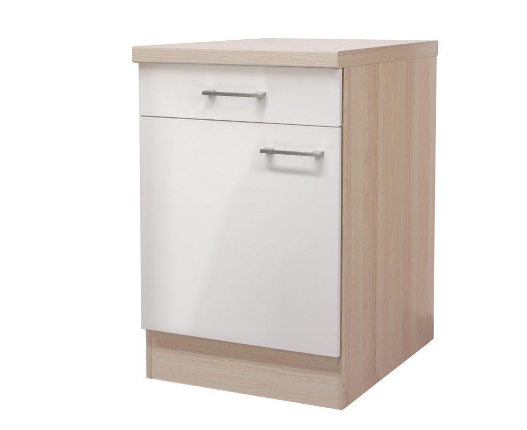 Large Size of Küchenunterschrank Kchen Unterschrank Florenz 1 Trig 60 Cm Breit Perlmutt Wohnzimmer Küchenunterschrank