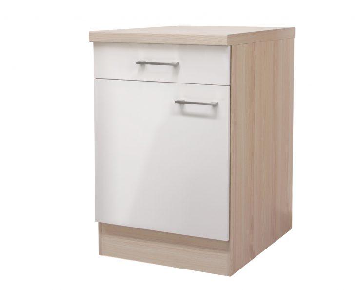 Medium Size of Küchenunterschrank Kchen Unterschrank Florenz 1 Trig 60 Cm Breit Perlmutt Wohnzimmer Küchenunterschrank