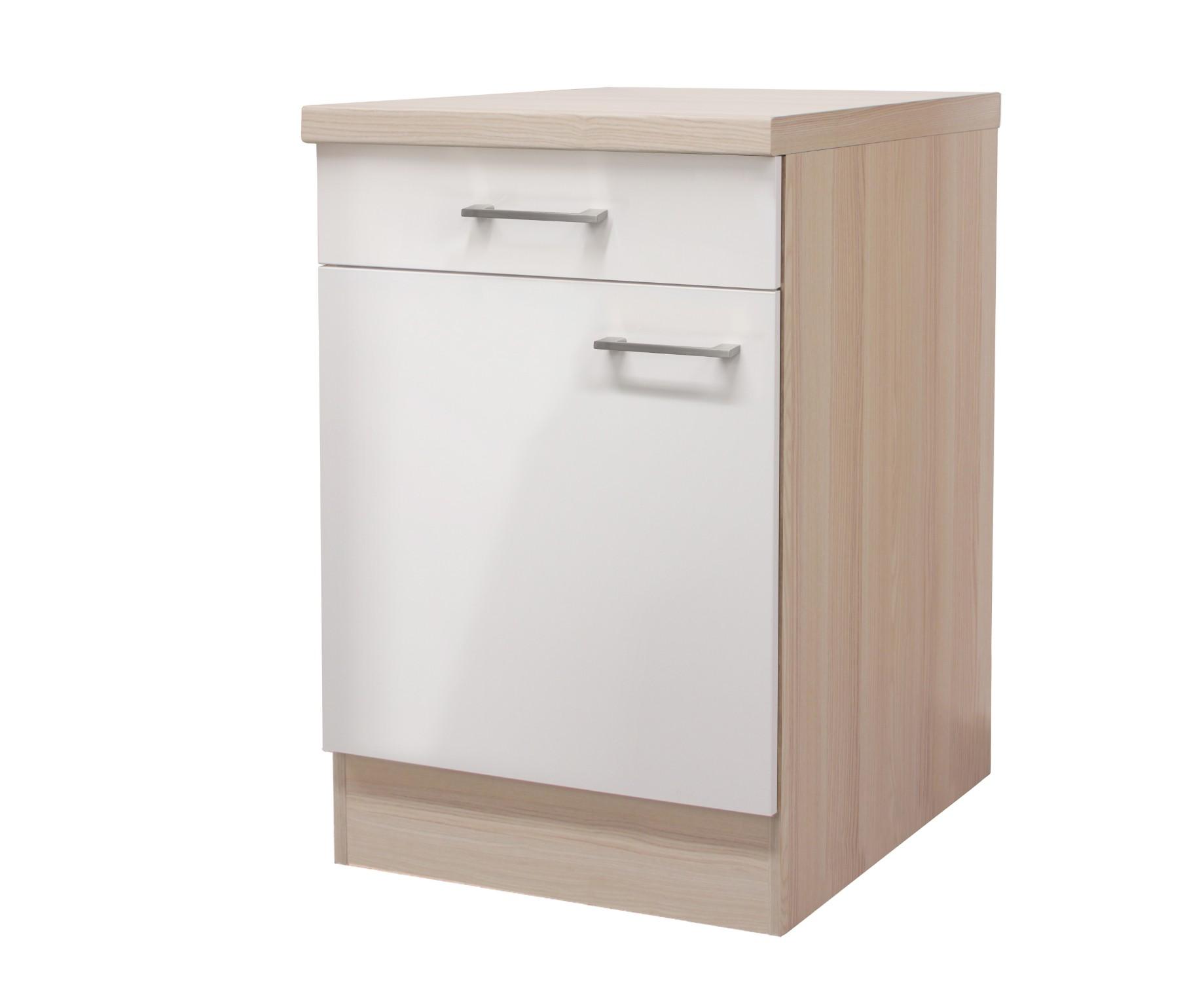 Full Size of Küchenunterschrank Kchen Unterschrank Florenz 1 Trig 60 Cm Breit Perlmutt Wohnzimmer Küchenunterschrank