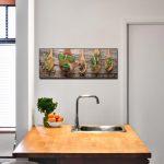 Küche Wanddeko Wohnzimmer Küche Wanddeko Glasbild 30x80cm Wandbild Aus Glas Kche Kruter Gewrze Alno Kräutertopf Ebay Einbauküche Gebrauchte Kaufen Waschbecken Hochglanz Weiss Weiß