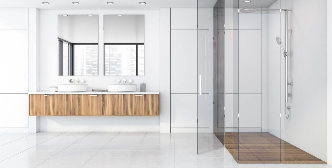 Large Size of Moderne Duschen Fliesen Bodengleiche Gefliest Gemauert Begehbare Badezimmer Kleine Dusche Bilder Ohne Ebenerdig Bei Glasprofi24 Kaufen Landhausküche Modernes Dusche Moderne Duschen