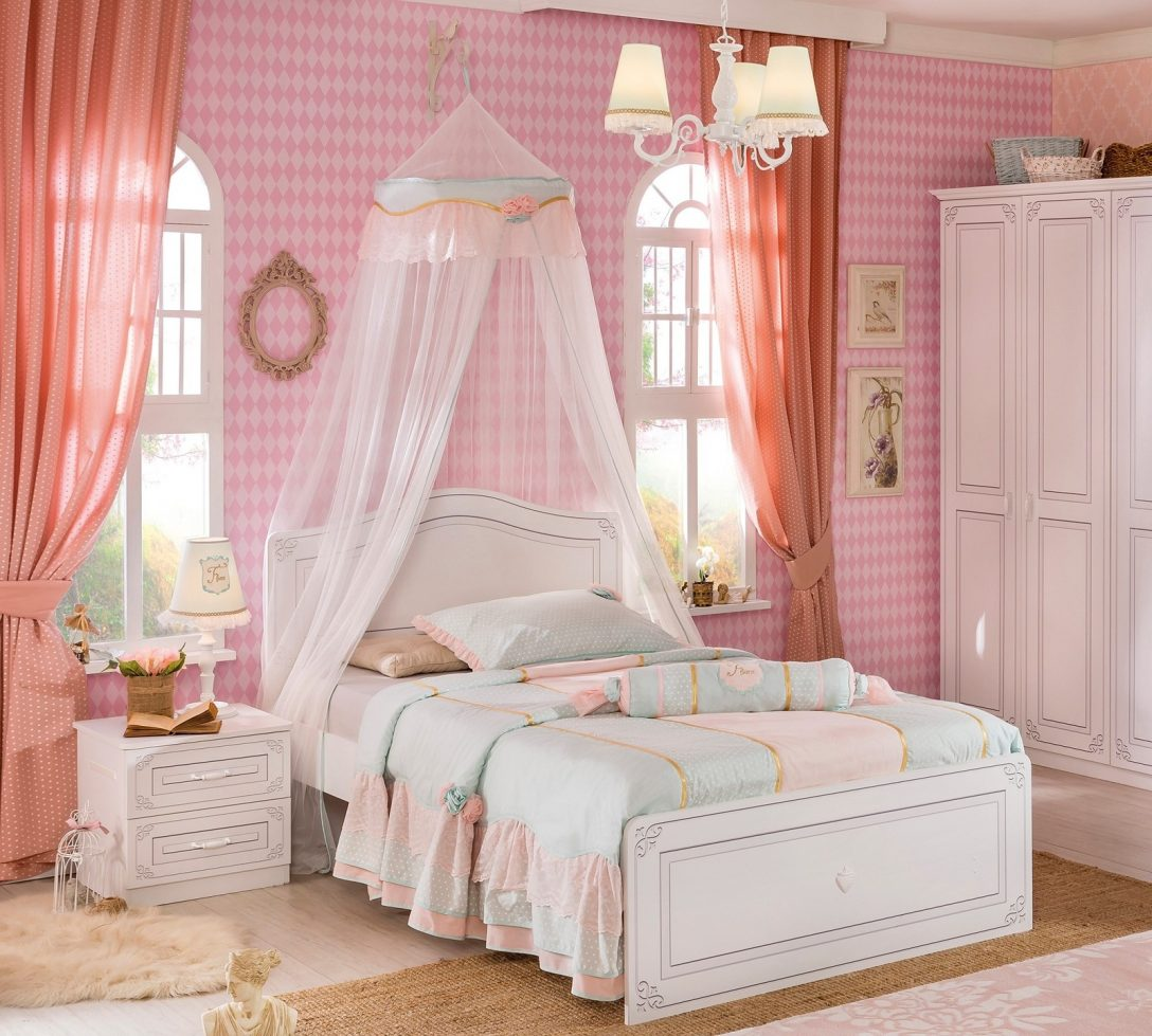 Large Size of Kinderbett Mädchen Fr Mdchen Selena 120x200 Kindermbel Mit Betten Bett Wohnzimmer Kinderbett Mädchen
