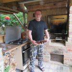 Outdoor Küche Gebraucht Zwischen Teich Und Bumen Meine Kche Waid Werk Wandsticker Grillplatte Einbauküche L Form U Landküche Granitplatten Laminat Für Wohnzimmer Outdoor Küche Gebraucht