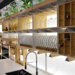 Regale Küche Kche Mit Geschirr Lizenzfreie Fotos Kurzzeitmesser Einbauküche E Geräten Gebrauchte Hängeschränke Eiche Mintgrün Holzregal Günstig Wohnzimmer Regale Küche