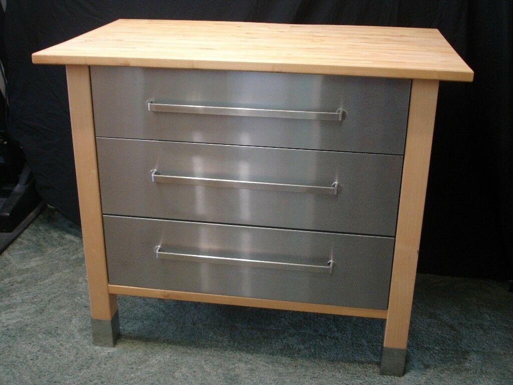 Full Size of Ikea Varde Freestanding Birch Wood Stainless Steel 3 Drawer Küche Kosten Betten 160x200 Sofa Mit Schlaffunktion Miniküche Kaufen Bei Modulküche Wohnzimmer Ikea Värde