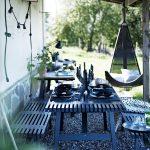 Ikea Gartentisch Wohnzimmer Garten Mit Gemtlicher Sitzecke In Schwarz Terrasse Ikea Sofa Schlaffunktion Küche Kaufen Betten Bei Kosten Miniküche 160x200 Modulküche