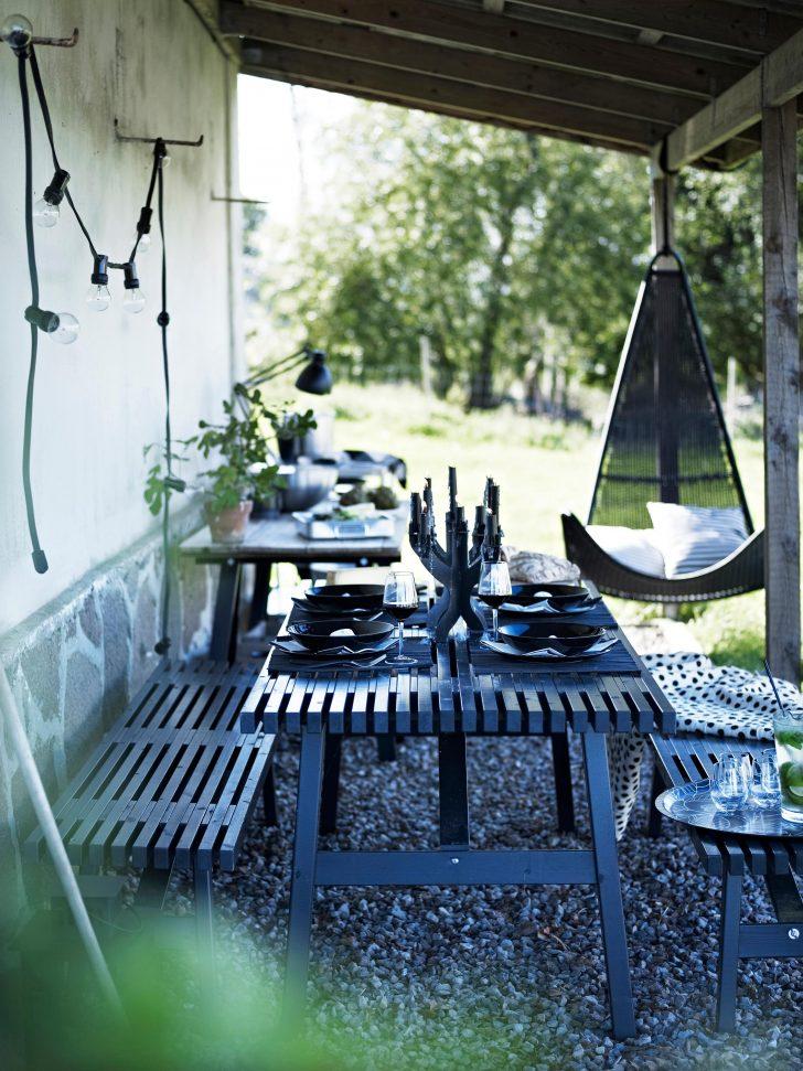 Medium Size of Garten Mit Gemtlicher Sitzecke In Schwarz Terrasse Ikea Sofa Schlaffunktion Küche Kaufen Betten Bei Kosten Miniküche 160x200 Modulküche Wohnzimmer Ikea Gartentisch