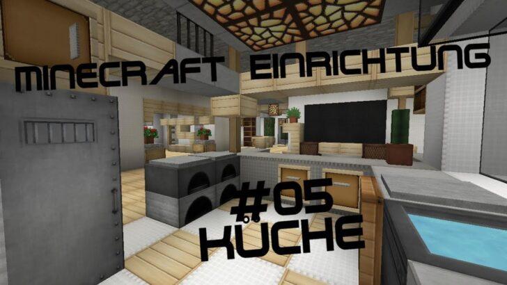 Medium Size of Minecraft Küche Einrichtung Mit Jannis Gerzen 05 Kche Tutorial Gardinen Für Teppich Wellmann Günstig Kaufen Fettabscheider Umziehen Werkbank Sitzecke Wohnzimmer Minecraft Küche