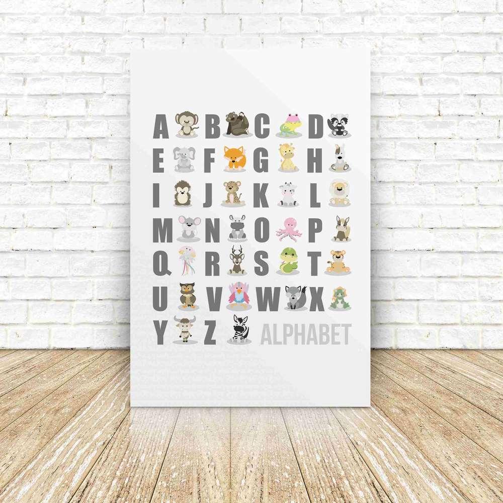 Full Size of Abc Dreamchen Poster Alphabet Wandbild Tiere Wandbilder Schlafzimmer Regal Kinderzimmer Weiß Regale Wohnzimmer Sofa Kinderzimmer Wandbild Kinderzimmer