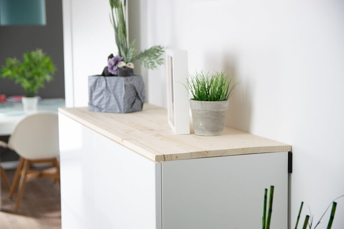 Full Size of Ikea Sideboard Hack Fr Mehr Stauraum Im Flur Aus Kchenschrank Wird Küche Kosten Betten Bei Modulküche 160x200 Miniküche Mit Arbeitsplatte Wohnzimmer Sofa Wohnzimmer Ikea Sideboard