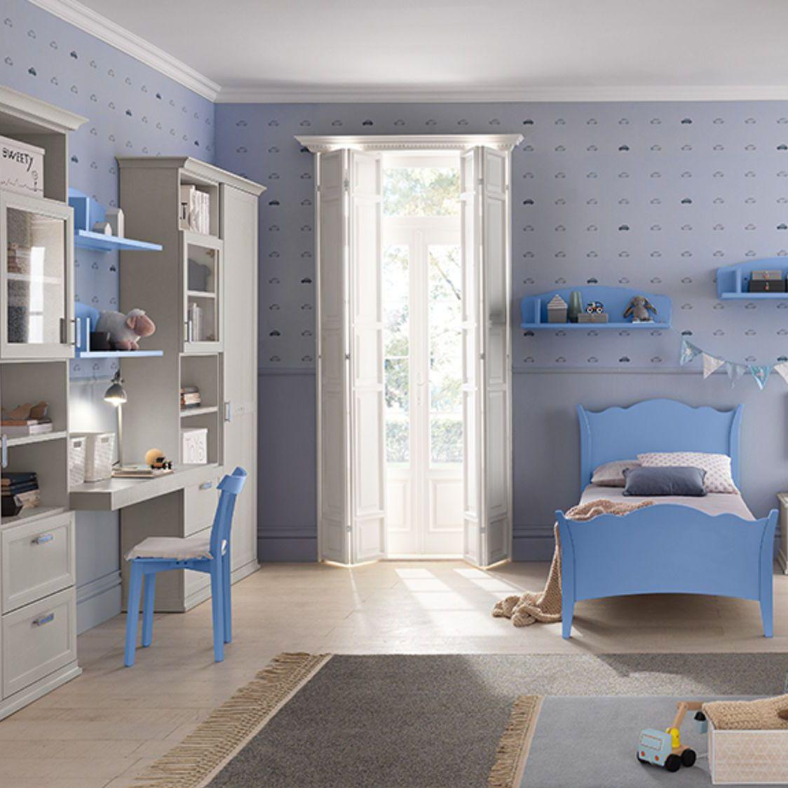 Full Size of Weies Kinderzimmer Blau Lackiertes Holz Fr Jungen Regal Sofa Weiß Regale Kinderzimmer Jungen Kinderzimmer