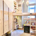 Hochbett Kinderzimmer Kinderzimmer Hochbetten Platzsparend Und Trotzdem Schn Sofa Kinderzimmer Regale Regal Weiß