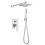Unterputz Duscharmatur Set Armatur Duschsystem Tropenschauer Bluetooth Lautsprecher Dusche Abfluss Einbauen Armaturen Küche Begehbare Ohne Tür Thermostat Dusche Unterputz Armatur Dusche