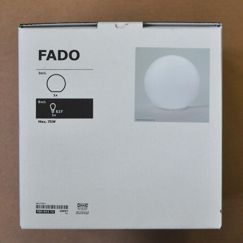 Full Size of Ikea Fado Tischleuchte Wei Leuchtkugel Tischlampe Betten 160x200 Schlafzimmer Deckenlampe Deckenlampen Für Wohnzimmer Sofa Mit Schlaffunktion Küche Kaufen Wohnzimmer Ikea Deckenlampe
