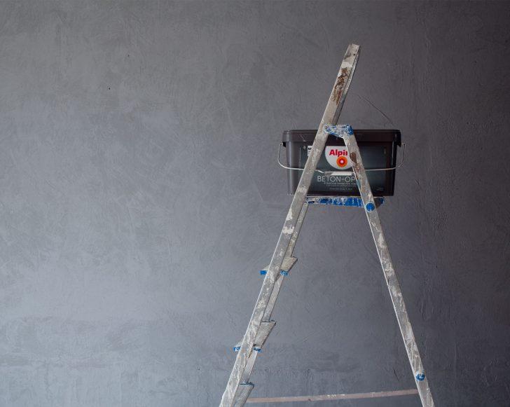 Medium Size of Alpina Betonoptik Set Beton Optik Grau Bauhaus Hellgrau Toom Interiordesign Diy Eine Wand In The Coco Question Bad Hotel Hofgastein Küche Wohnzimmer Alpina Betonoptik