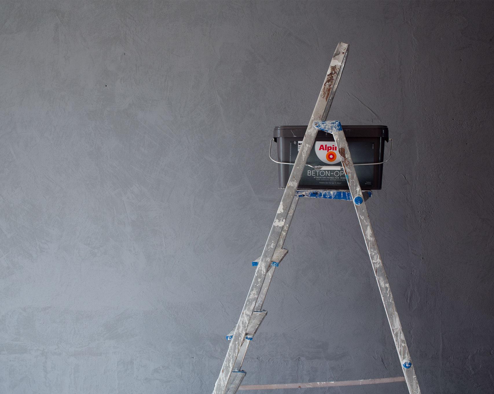 Full Size of Alpina Betonoptik Set Beton Optik Grau Bauhaus Hellgrau Toom Interiordesign Diy Eine Wand In The Coco Question Bad Hotel Hofgastein Küche Wohnzimmer Alpina Betonoptik