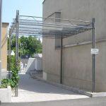 Pergola Metall Wohnzimmer Pergola Metall Selbsttragende Fr Ffentliche Bereiche Via Regal Garten Weiß Bett Regale