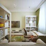 Kinderzimmer Jungen Kinderzimmer Fr Das Bett Jungen Mit Regalen Und Einem Sofa Regal Regale Weiß