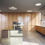 Holzküchen Wohnzimmer Holzküchen Luxurises Anwesen Mit Holzkche Im 50er Jahre Stil