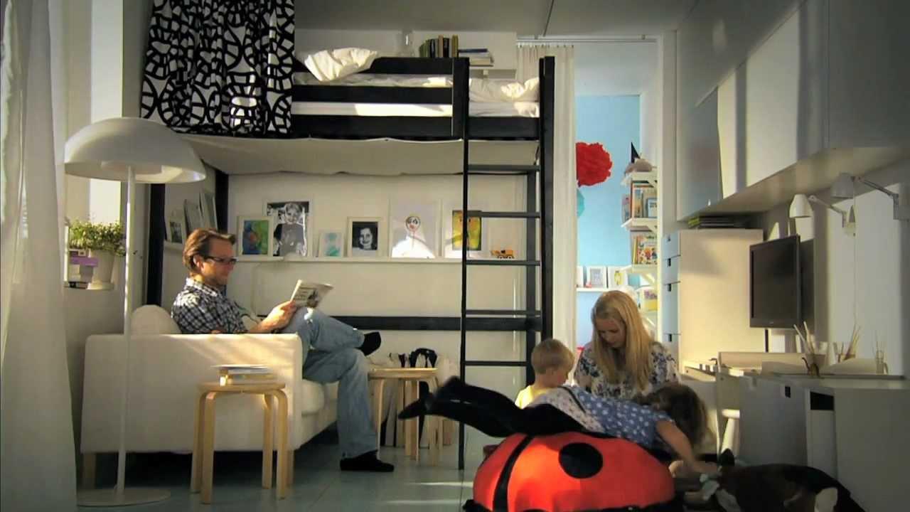 Full Size of Ikea Fr Kleine Rume Clevere Ideen Mehr Platz Youtube Küche Kaufen Kosten Betten 160x200 Modulküche Jugendzimmer Bett Sofa Mit Schlaffunktion Bei Miniküche Wohnzimmer Jugendzimmer Ikea