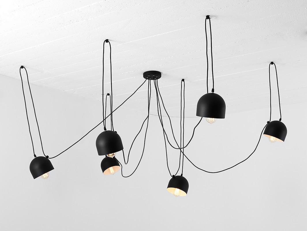 Full Size of Hängelampen Hngelampe Popo 6 Schwarz Nur Bei Hngelampen Wohnzimmer Hängelampen