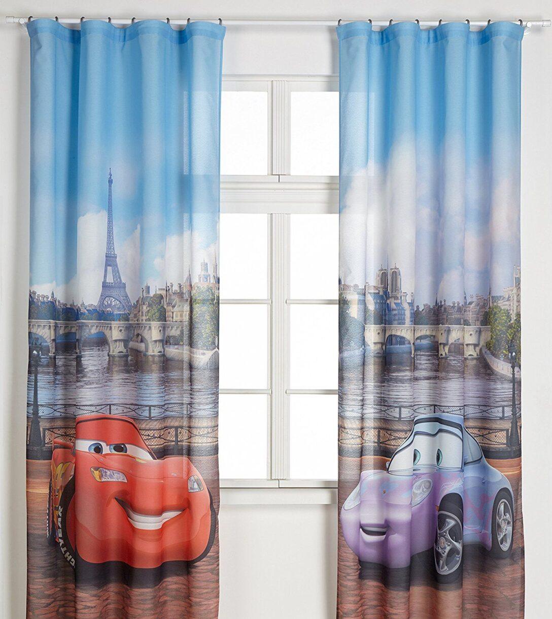 Large Size of Kinderzimmer Vorhang Autozimmer Disney Cars Vorhnge Fr Das Gardine Regal Weiß Küche Regale Sofa Wohnzimmer Bad Kinderzimmer Kinderzimmer Vorhang