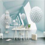 Schlafzimmer Tapete Wohnzimmer Schlafzimmer Tapete 3d Abstrakte Blau Ball Bau Wandbild Fr Wohnzimmer Küche Lampen Stuhl Schranksysteme Led Landhaus Wandtattoo Sitzbank Vorhänge Sessel