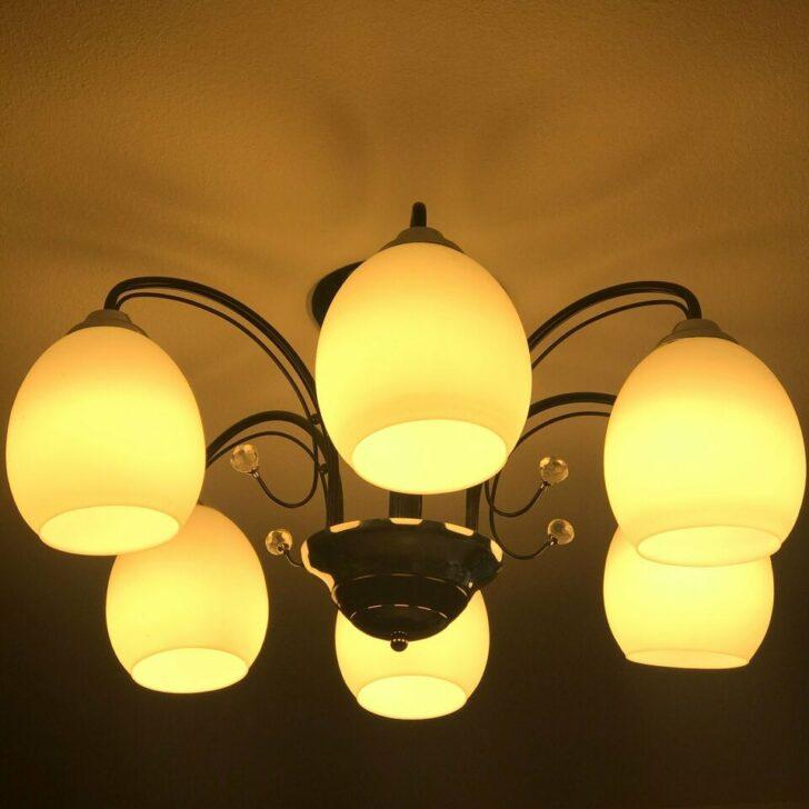 Medium Size of Wohnzimmer Lampe Leuchte Deckenleuchte 6 Led Birnen Marke Osram Schlafzimmer Wandtattoos Bilder Xxl Lampen Küche Deckenlampe Anbauwand Tischlampe Decken Wohnzimmer Wohnzimmer Lampe