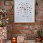 Wanddeko Ideen Wohnzimmer Wanddeko Ideen Diy Deko Mit Trockenblumen 2 Blumen Mandala Print Leelah Loves Küche Wohnzimmer Tapeten Bad Renovieren