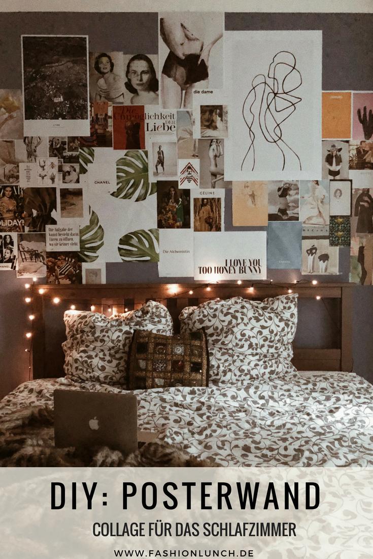 Full Size of Schlafzimmer Deko Lifestyle Eine Posterwand Im Selber Machen Diy Schranksysteme Kommode Weiß Landhausstil Günstige Massivholz Komplettes Kommoden Tapeten Wohnzimmer Schlafzimmer Deko