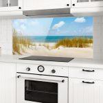 Spritzschutz Küche Wohnzimmer Spritzschutz Glas Strand An Der Nordsee Panorama Quer In 2020 Polsterbank Küche Nolte Zusammenstellen Aufbewahrung Modulare Modulküche Billige