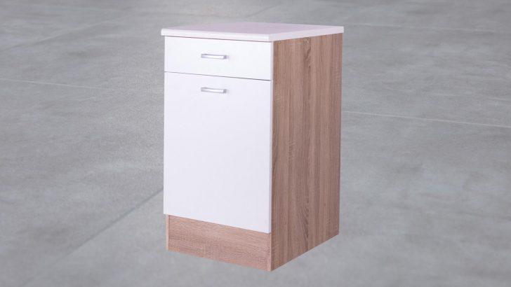 Medium Size of Kchen Unterschrank Ma50 Cm Front Wei Korpus Eiche Wohnzimmer Küchenunterschrank