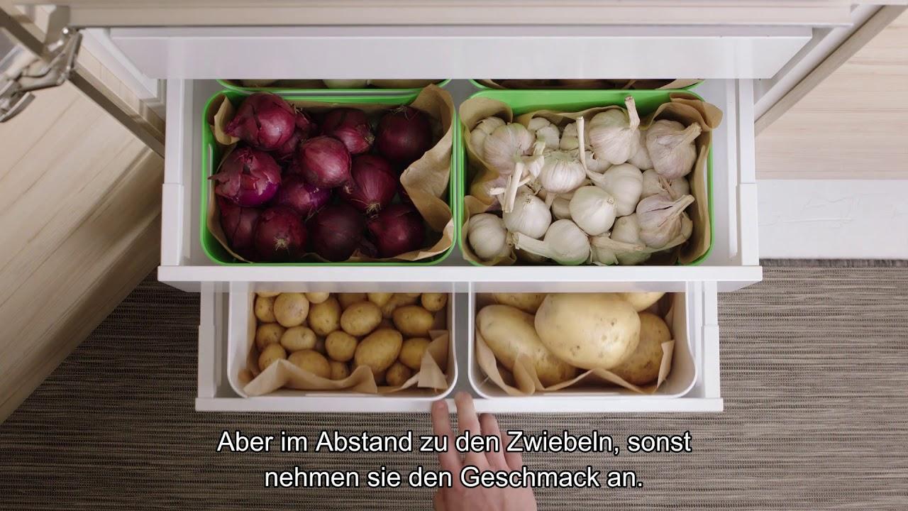 Full Size of Ikea Lagerung Von Lebensmitteln Youtube Kleine Einbauküche Grillplatte Küche Miniküche Kreidetafel Auf Raten Günstig Wandfliesen Rolladenschrank Weiße Wohnzimmer Aufbewahrung Küche